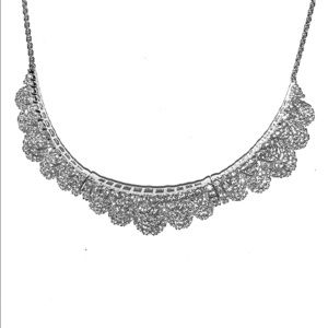 🍭STERLING S PRINCESS STYLE 3 SECTION NECKLACE